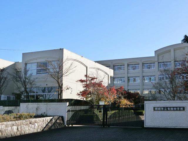 竜南中学校(周辺)